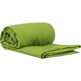 Sea to Summit Silk Stretch Liner Para Viajes con Funda para Almohada, green